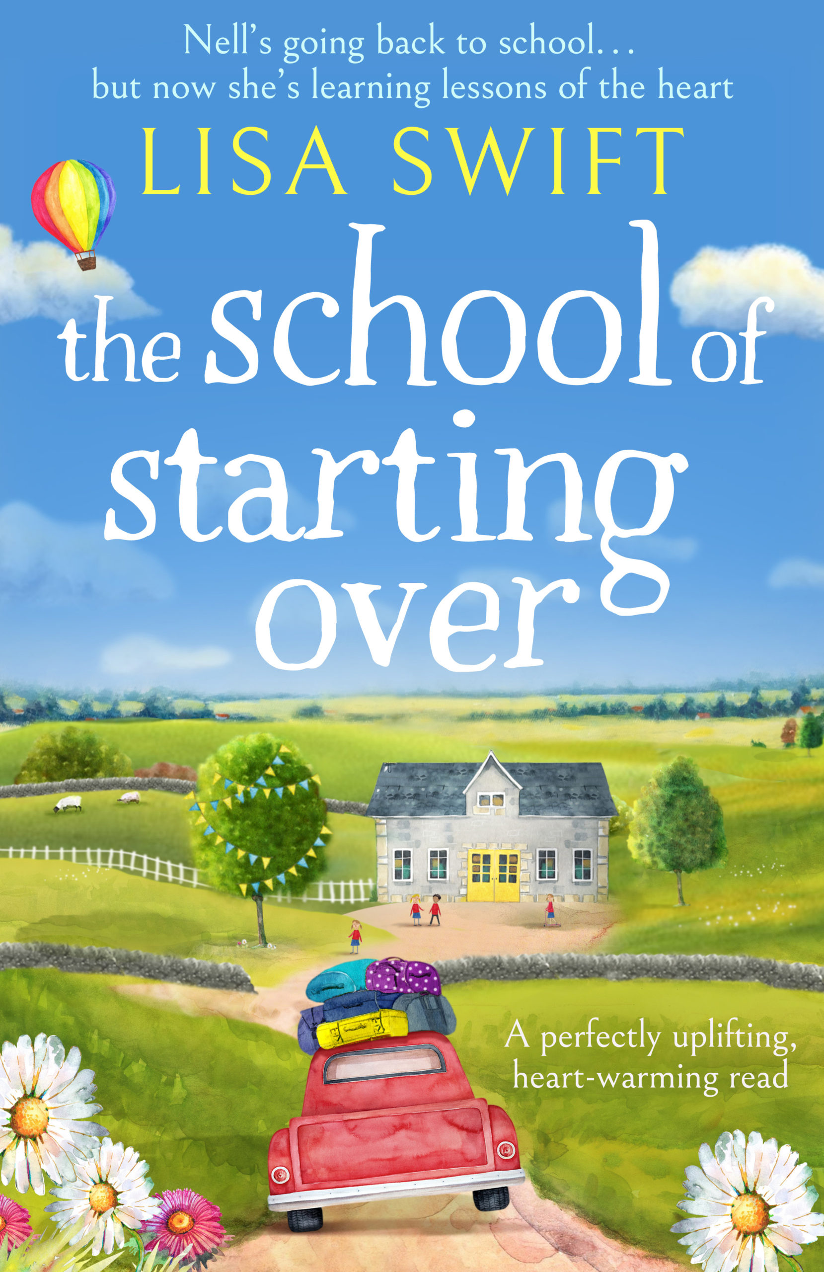 COVER REVEAL: The School of Starting Over